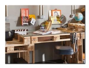 Мебель из паллет для офиса